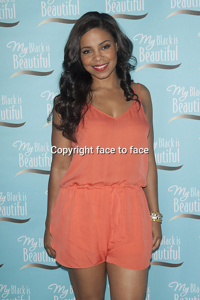 NEW YORK, NY - JUNE 19: Sanaa Lathan at P&amp;G Community Roundtable Hosted by My Black is Beautiful at Herald Square on June 19, 2013 in New York City.<br />