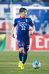 Suwon Defender Jang Hoik in action during the AFC Champions League 2017 Group G match Between Suwon Samsung Bluewings (KOR) vs Guangzhou Evergrande FC (CHN) at the Suwon World Cup Stadium on 01 March 2017 in Suwon, South Korea. Photo by Victor Fraile / Power Sport Images