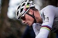 CX World Champion Mathieu van der Poel (NED/Corendon-Circus)<br /> <br /> 82nd Druivencross Overijse 2019 (BEL)<br />  <br /> ©kramon