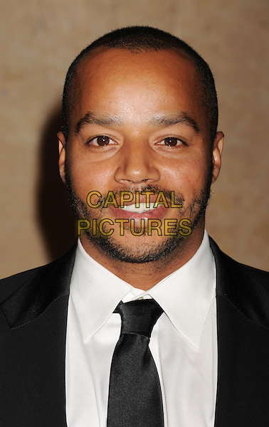 Donald Faison.The 62nd Annual ACE Eddie Awards at the Beverly Hilton Hotel in Beverly Hills, California, USA..February 18, 2012.headshot portrait stubble facial hair beard shirt black white  .CAP/ROT/TM.©Tony Michaels/Roth Stock/Capital Pictures