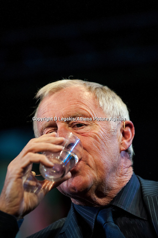 Thursday  29 May 2014, Hay on Wye, UK<br /> Pictured: Chris Tarrant at the Hay Festival<br /> Re: The Hay Festival, Hay on Wye, Powys, Wales UK.