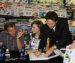 """Days Of Our Lives - Wally Kurth, Lauren Koslow, Drake Hogestynmeet the fans as they sign """"Days Of Our Lives Better Living"""" on September 27, 2013 at Books-A-Million in Nashville, Tennessee. (Photo by Sue Coflin/Max Photos)"""