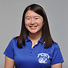 Joyce Lin of Port Washington girls bowling poses for a portrait during Newsday's 2018-19 season preview photo shoot at company headquarters in Melville on Monday, Dec. 3, 2018.