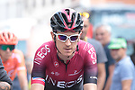 Geraint Thomas (WAL) Team Ineos at sign on before Stage 3 of the 2019 Tour de France running 215km from Binche, Belgium to Epernay, France. 8th July 2019.<br /> Picture: Colin Flockton | Cyclefile<br /> All photos usage must carry mandatory copyright credit (© Cyclefile | Colin Flockton)