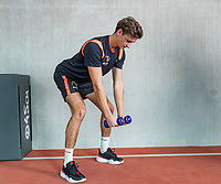 Amstelveen,  Netherlands, Oktober 29,  2019, National Tennis Center , NTC, KNLTB Fitness and stability<br /> Photo: Tennisimages/Henk Koster