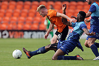 Jack Barham of Barnet and a Wycombe Wanderers trialist during Barnet vs Wycombe Wanderers, Friendly Match Football at the Hive Stadium on 13th July 2019
