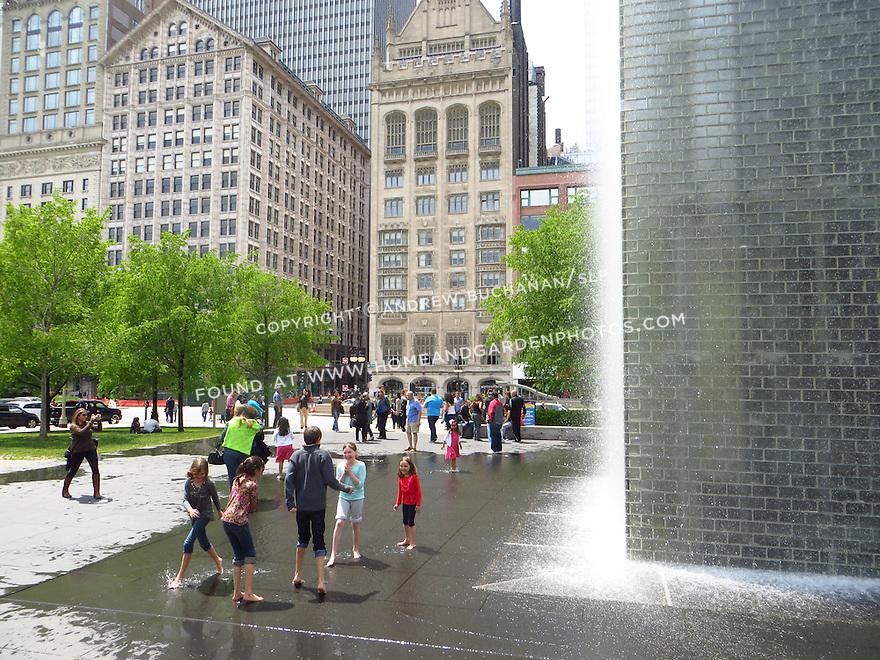 Millennium Park, Chicago, IL; May, 2013