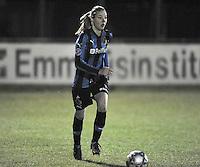 Club Brugge Dames - WB Sinaai Girls : Nicky Van Den Abbeele .foto DAVID CATRY / Vrouwenteam.be