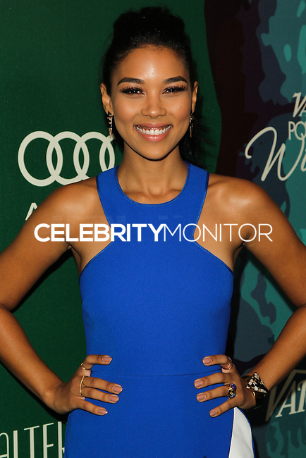 BEVERLY HILLS, CA, USA - OCTOBER 10: Alexandra Shipp arrives at the 2014 Variety Power Of Women held at the Beverly Wilshire Four Seasons Hotel on October 10, 2014 in Beverly Hills, California, United States. (Photo by Celebrity Monitor)