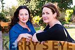 Actresses Elaine Kennedy and Moya Farrelly.