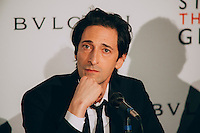 "Adrien Brody at BVLGARI Partners With Save The Children To Launch ""STOP.THINK.GIVE"" (Photo by Tiffany Chien/Guest Of A Guest)"