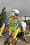 Roman Kreuziger (CZE) Liquigas before the start Stage 18 of the Tour de France 2009 an individual time trial running 40.5km around Lake Annecy, France. 23rd July 2009 (Photo by Eoin Clarke/NEWSFILE)