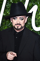 Boy George<br /> arriving forThe Fashion Awards 2019 at the Royal Albert Hall, London.<br /> <br /> ©Ash Knotek  D3542 02/12/2019
