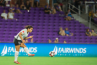 Orlando, FL - Saturday August 12, 2017: Raquel Rodriguez during a regular season National Women's Soccer League (NWSL) match between the Orlando Pride and Sky Blue FC at Orlando City Stadium.
