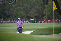 Alex Noren (SWE) watches his putt on 9 during round 4 of The Players Championship, TPC Sawgrass, at Ponte Vedra, Florida, USA. 5/13/2018.<br /> Picture: Golffile | Ken Murray<br /> <br /> <br /> All photo usage must carry mandatory copyright credit (&copy; Golffile | Ken Murray)