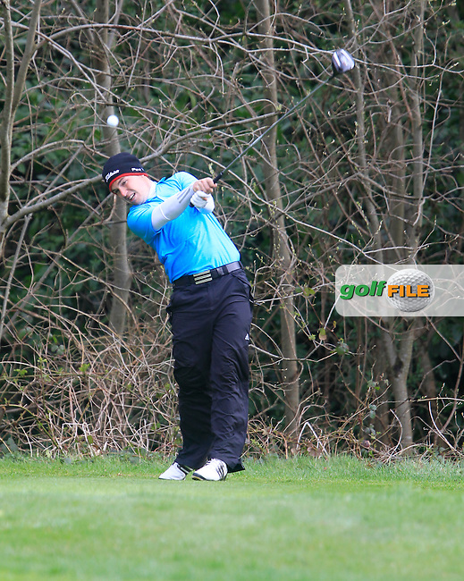 Rory McNamara (Headfort) during the Headfort Scratch Cup, Kells, Co Meath 21/4/13.Picture: Thos Caffrey www.golffile.ie...