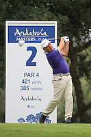 Damien McGrane (IRL) during the pro-am at the  Andalucía Masters at Club de Golf Valderrama, Sotogrande, Spain. .Picture Fran Caffrey www.golffile.ie