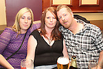 Sarah Reynolds with Debbie and Mark Cullen at the Jock MacHale Tribute Night in McHugh's...Picture Jenny Matthews/Newsfile.ie