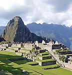 The Lost Incan City of Machu Picchu near Cusco, Peru.