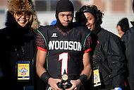 November 28, 2013  (Washington, DC) #1 D'Andre Payne of the H.D. Woodson Warriors was named MVP of the 2013 DCIAA varsity football championship game November 28, 2013.  (Photo by Don Baxter/Media Images International)