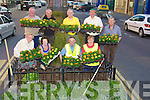 FLOWERS: Flower planting on Monday evening by the Pikeman Denny Street,Tralee by members of Tralee Tidy Towns and Kerry County Council. Front l-r: Mary O'Brien, Joan O'Regan, Pat Nash and Patsy Barrett. Back l-r: Brendan Enright, PJ Dollery, Martin Brosnan, John Griffin and  Martin Mitchell................................... ....
