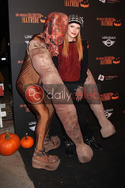 Bella Thorne<br /> at the 8th Annual LA Haunted Hayride Premiere Night, Griffith Park, Los Angeles, CA 10-10-13<br /> David Edwards/DailyCeleb.Com 818-249-4998