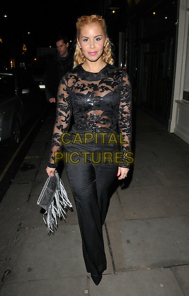 Shanie Ryan attends the Jane Taylor flagship store launch party, Jane Taylor, King's Road, London, UK, on Tuesday 01 December 2015.<br /> CAP/CAN<br /> &copy;Can Nguyen/Capital Pictures