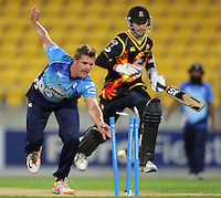 121116 HRV Cup Cricket - Wellington v Auckland
