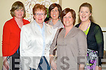 "Breda Daly, Deborah O'Connor, Esther Brosnan, Sharon Brosnan and Kay O'Leary enjoying the play ""Dear Frankie"" by Niamh Gleeson, in The Malton hotel , Killarney on Wednesday night."