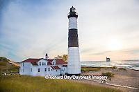 64795-00917 Big Sable Point Lighthouse on Lake Michigan, Mason County, Ludington, MI