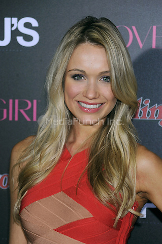 NEW YORK, NY - NOVEMBER 07: Katrina Bowden attends the Rolling Stone & Cover Girl Top DJ's event at TAO on November 7, 2012 in New York City. Credit: mpi01/MediaPunch Inc.