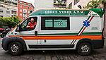 Milano,Luca Beltrami, Volontario della Croce Verde di Via San Vincenzo