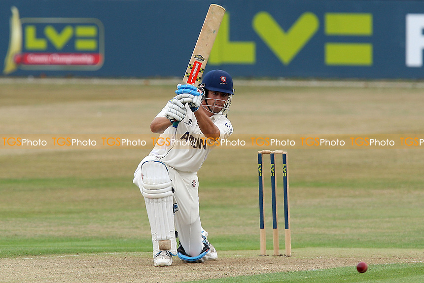 Alastair Cook in batting action for Essex - Essex CCC vs Yorkshire CCC - LV County Championship Division One at the Ford County Ground, Chelmsford, Essex -  20/07/10 - MANDATORY CREDIT: Gavin Ellis/TGSPHOTO - Self billing applies where appropriate - Tel: 0845 094 6026