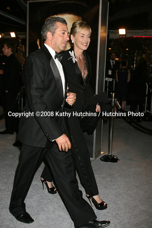 "Sharon Stone arriving at the LA  Premiere of ""The Curious Case of Benjamin Button"" at the Mann's Village Theater in Westwood, CA .December 8, 2008.©2008 Kathy Hutchins / Hutchins Photo....                ."