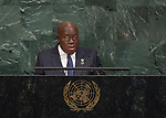 72 General Debate – 20 September <br /> <br /> His Excellency Nana Addo Dankwa Akufo-Addo, President of the Republic of Ghana