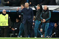 Real Madrid's coach Zinedine Zidane celebrates goal during Champions League Quarter-Finals 2nd leg match. April 11,2018. (ALTERPHOTOS/Acero) /NortePhoto.com