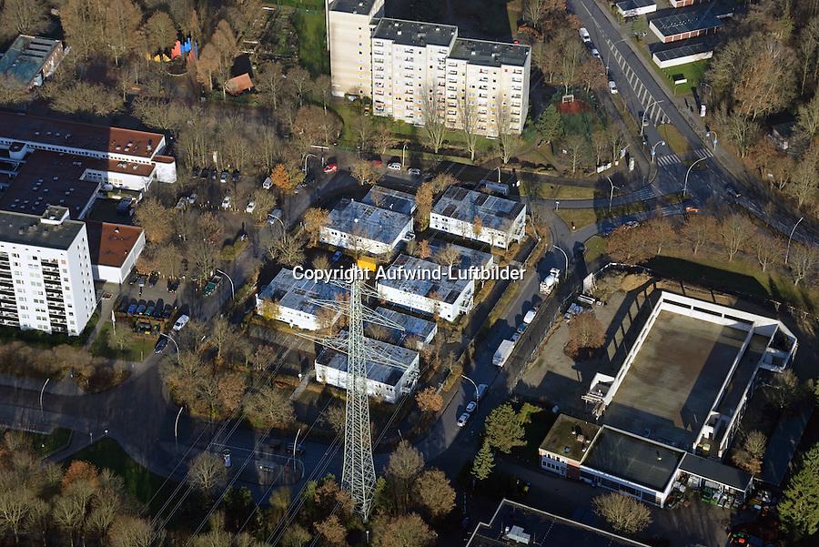 Asylantenheim Bergedorf West: EUROPA, DEUTSCHLAND, HAMBURG, BERGEDORD (EUROPE, GERMANY), 27.11.2016: Asylantenheim Bergedorf West