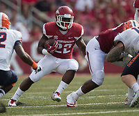 HAWGS ILLUSTRATED JASON IVESTER<br /> 09-05-15 Arkansas vs UTEP football