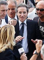 Manifestazione  di Forza Italia<br /> nella foto    Stefano caldoro