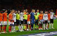 "UEFA Kampagne gegen Rassismus ""Equal Game"" - 13.10.2018: Niederlande vs. Deutschland, 3. Spieltag UEFA Nations League, Johann Cruijff Arena Amsterdam, DISCLAIMER: DFB regulations prohibit any use of photographs as image sequences and/or quasi-video."