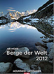 2012 Mountains of the World<br /> <br /> Oversized Wall Calendar<br /> <br /> Photography by Art Wolfe<br /> <br /> International: In English, German, and French<br /> <br /> Oversized at 19x27 inches (49x68cm)<br /> <br /> Available online at<br /> <br /> http://www.kv-weingarten.de/suche.php?isbn=978-3-8400-5375-7&amp;suchbegriff=berge%20der%20welt