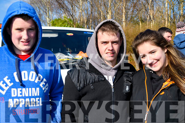 At The Red Fox Tractor Run at the Red Fox on Sunday<br /> L-R Michael John Sheahan, Luke Naughton &amp; Jacqueline O'Connor