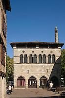 Europe/France/Midi-Pyrénées/46/Lot/Figeac: L'Hôtel de la Monnaie - construit au 13 e siècle avec son soleiho