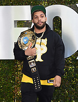 """LOS ANGELES - OCTOBER 4: O'Shea Jackson attends the kick-off event for the """"WWE Friday Night Smackdown on FOX"""" at Staples Center on October 4, 2019 in Los Angeles, California. (Photo by Frank Micelotta/Fox Sports/PictureGroup)"""