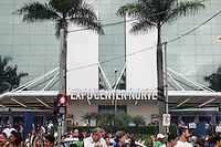 SAO PAULO, SP, 29.03.2015 - HAIR BRASIL - Expo Center Norte durante 14ª Feira Inrernacional de Beleza Cabelos e Estética, no bairro da Vila Guilhere na região norte de São Paulo neste domingo, (29). (Foto: Marcos Moraes / Brazil Photo Press).
