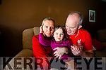 Mary Lacey and John O'Callaghan with their daughter Amelia who has epilepsy and has left without any epilepsy nurse in CUH.
