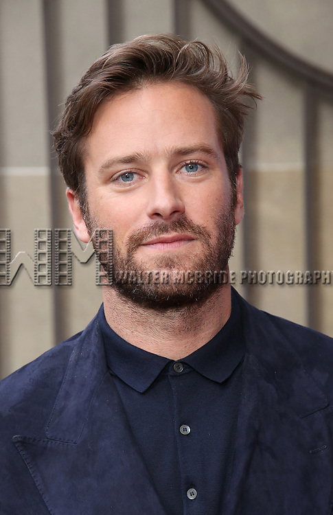 Armie Hammer attends the 'Call Me By Your Name' premiere during the 2017 Toronto International Film Festival at Ryerson Theatre on September 7, 2017 in Toronto, Canada.