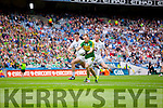 Darren O'Sullivan, scores Kerry's Third goal in the All Ireland Quarter Final at Croke Park on Sunday.