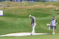 Haotong Li (CHN) on the 3rd during Round 3 of the HNA Open De France at Le Golf National in Saint-Quentin-En-Yvelines, Paris, France on Saturday 30th June 2018.<br /> Picture:  Thos Caffrey | Golffile