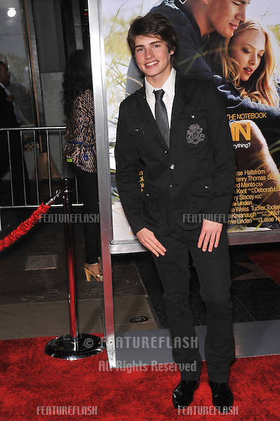 "Gregg Sulkin at the world premiere of ""Dear John"" at Grauman's Chinese Theatre, Hollywood..February 1, 2010  Los Angeles, CA.Picture: Paul Smith / Featureflash"